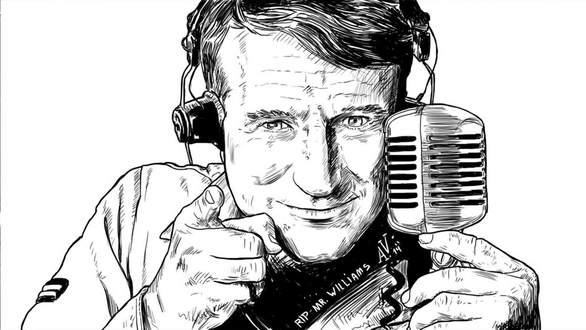 A Tribute to Robin Williams by techgnotic on DeviantArt