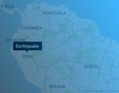 8.0 earthquake hit Peru