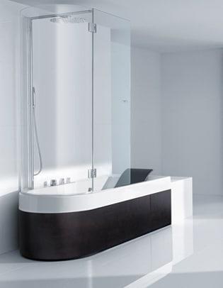 Le migliori vasche doccia combinate  Da vasca a doccia