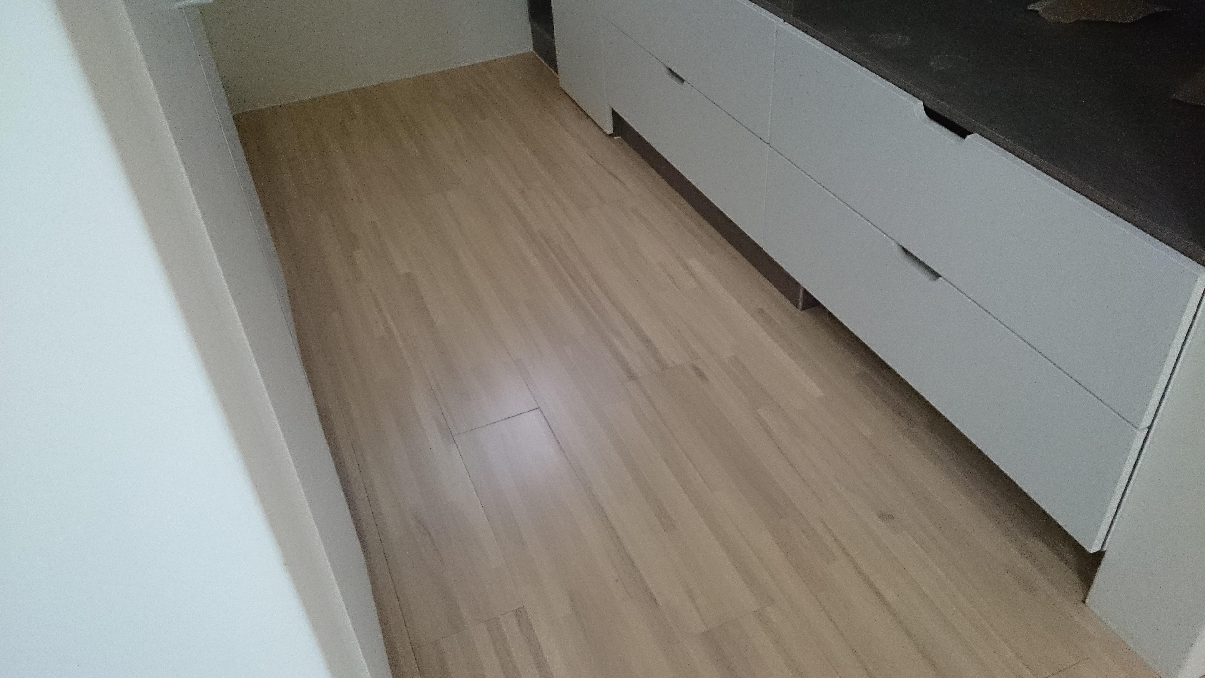 白栓木厚皮拼接 (7) - 達佑地板