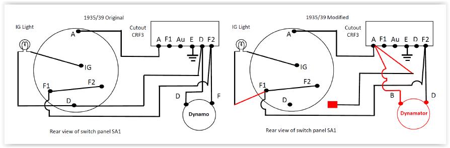 One Wire Alternator Conversion Wiring Diagram \u2013 Vehicle ... One Wire Alternator Conversion Wiring Diagram on