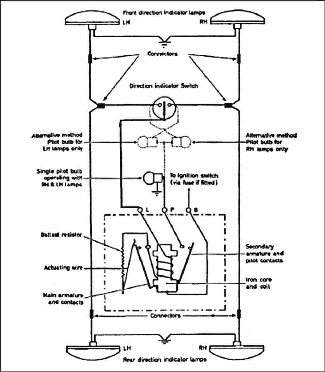 electronic flasher wiring diagram moss labeled modern circuits