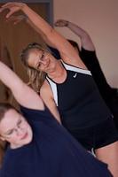 viele Kurse im Fitnesstudio Weiden