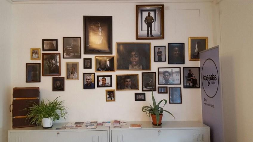 Alle Mitarbeiter im Magdas Hotel Wien
