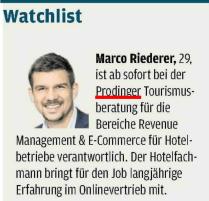 18.07.2016, Wirtschaftsblatt