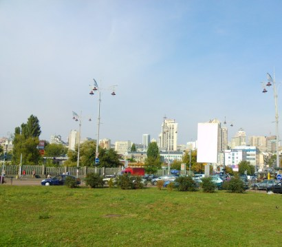 Blick auf Stadtzentrum