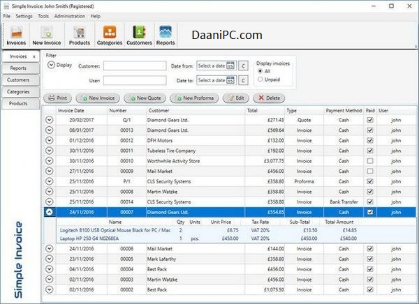 Simple Invoice [v3.23] Latest Full Free Download