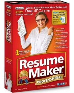 ResumeMaker Professional Deluxe [V20.1] Crack With Activation Key