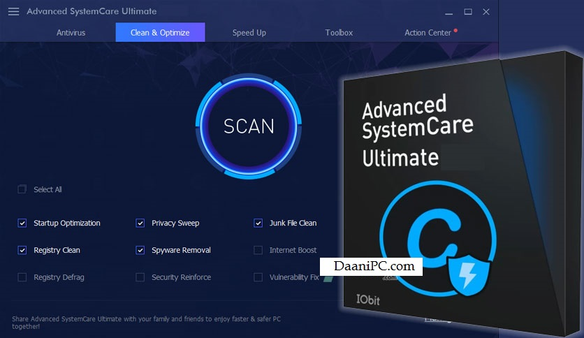 Advanced SystemCare Ultimate [V14.5] Crack With License Key Free Download