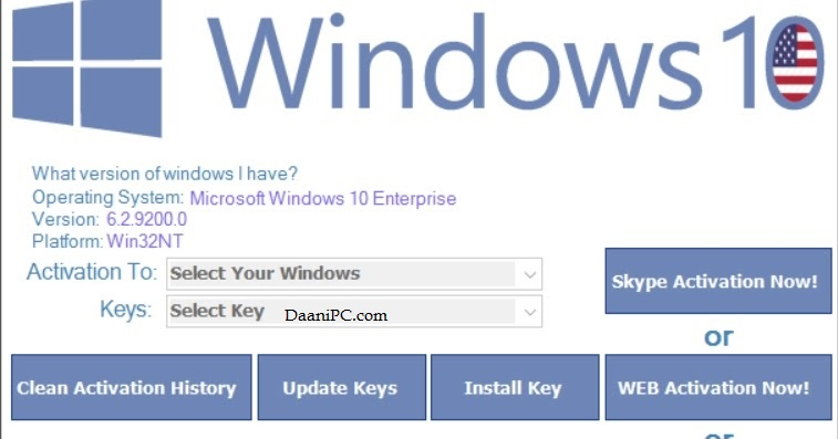 Windows  10  Permanent Activator [2021] for 32-64 Bit Crack With lifetime key [KMSPico] Free Download