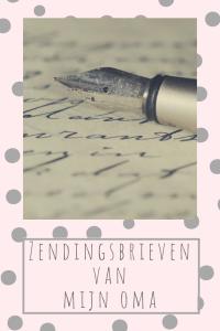 zending zendingsbrief brieven zendingsbrieven oma