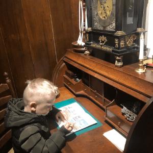 oudheidskamer texel museum met kinderen den burg spweurtocht-3