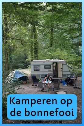 Kamperen op de bonnefooi - elke zomervakantie gaan wij met de caravan op pad. We boeken geen camping, maar zien wel waar we uitkomen -
