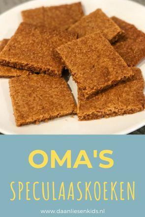 oma's speuclaas koeken recept - het lekkerste speculaas - grootmoeders koekjes - speculaaskoeken - speculaaskoekjes - oma