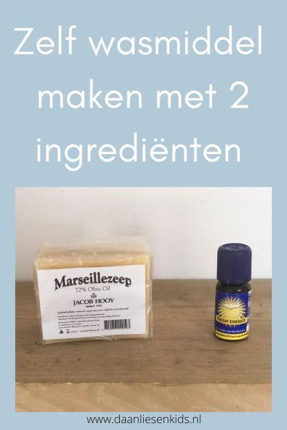 wasmiddel maken met 2 ingrediënten diy zelf maken makkelijk en goedkoop mamablog
