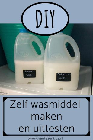 zelf wasmiddel maken en uitproberen - recept diy