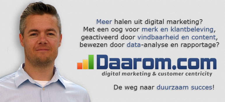 Daarom.com Digital Marketing & Customer Centricity
