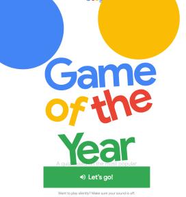 Google Game 2018