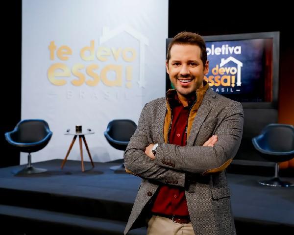 Te Devo Essa! será comandada pelo apresentador Dony De Nuccio.