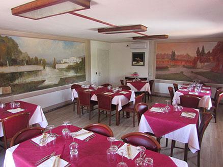 sala affreschi trattoria bugnins La Trattoria