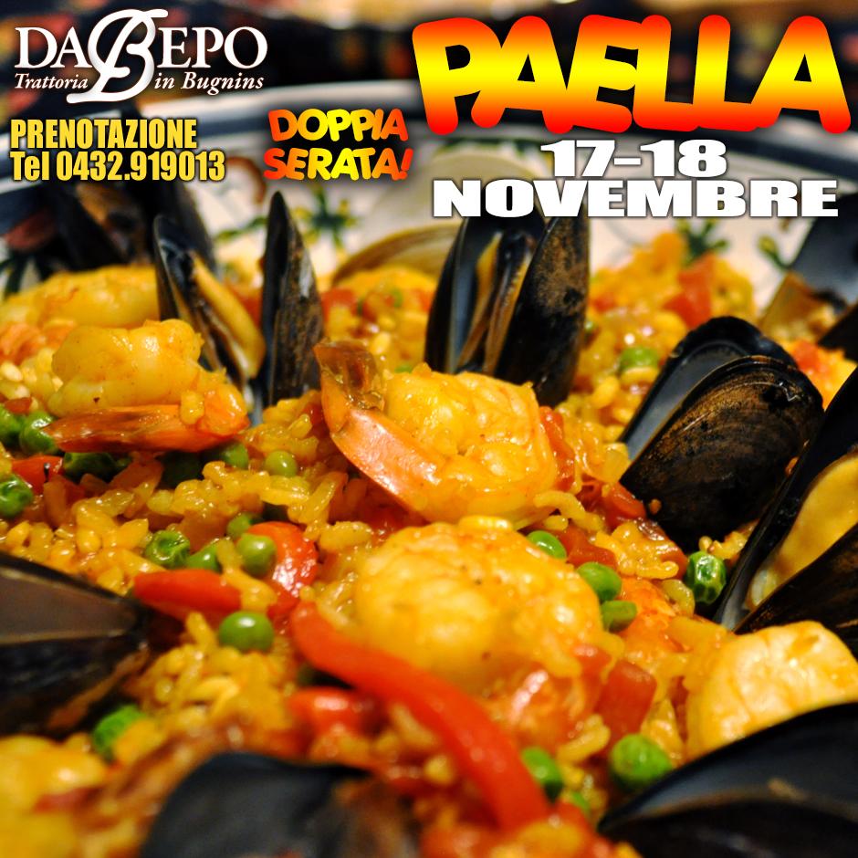 06 17 18 Novembre: Serate Paella
