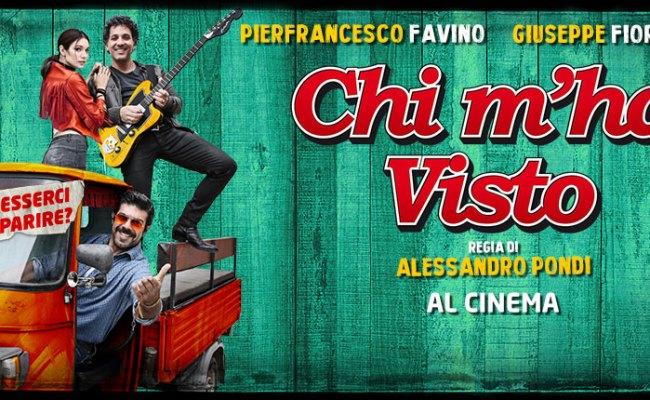 Al Cinema Arriva Chi M Ha Visto Con Pierfrancesco Favino E