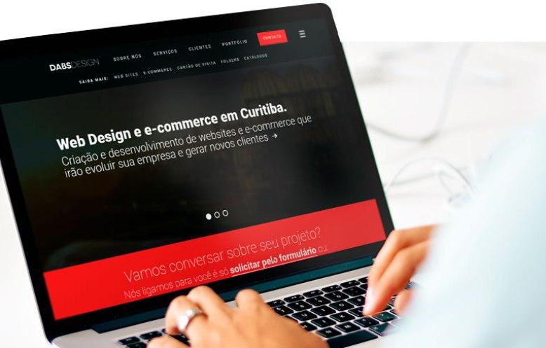 Criar sites em Curitiba - Dabs Design
