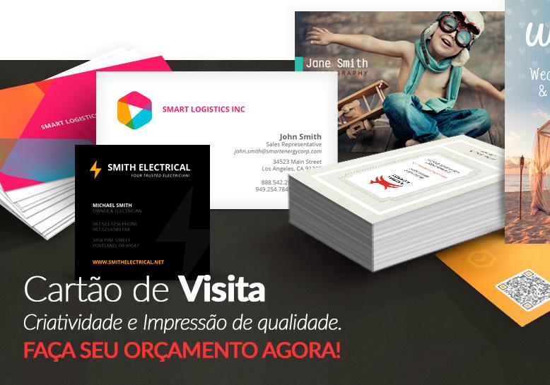 Cartão de Visita Curitiba é na Dabs Design - (41) 4101-4706