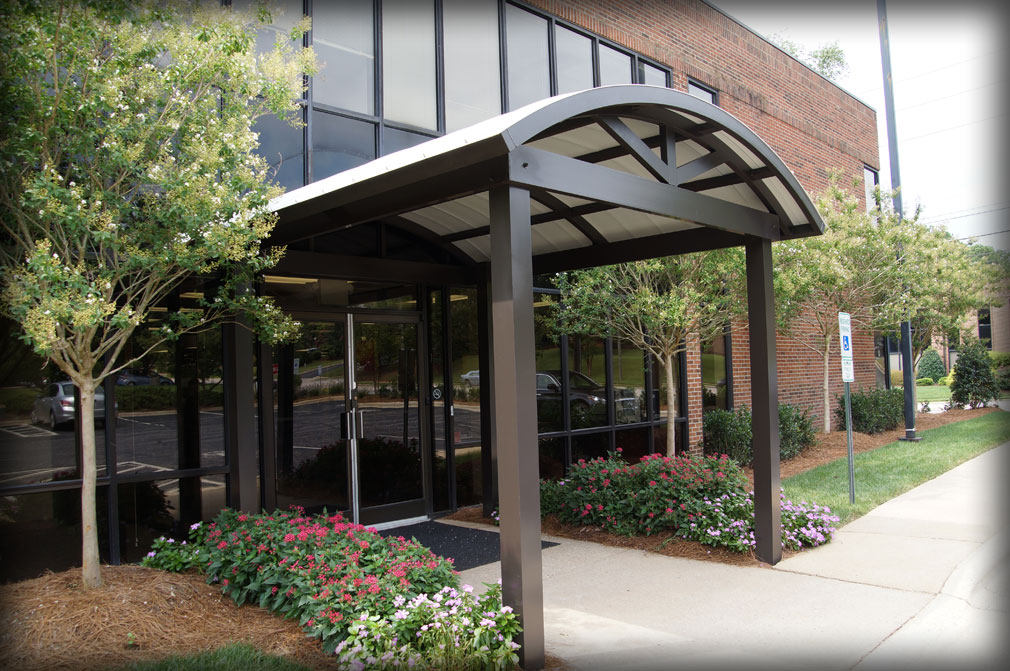 DAC Architectural Fabric  Metal Entrance  DropOff Canopies