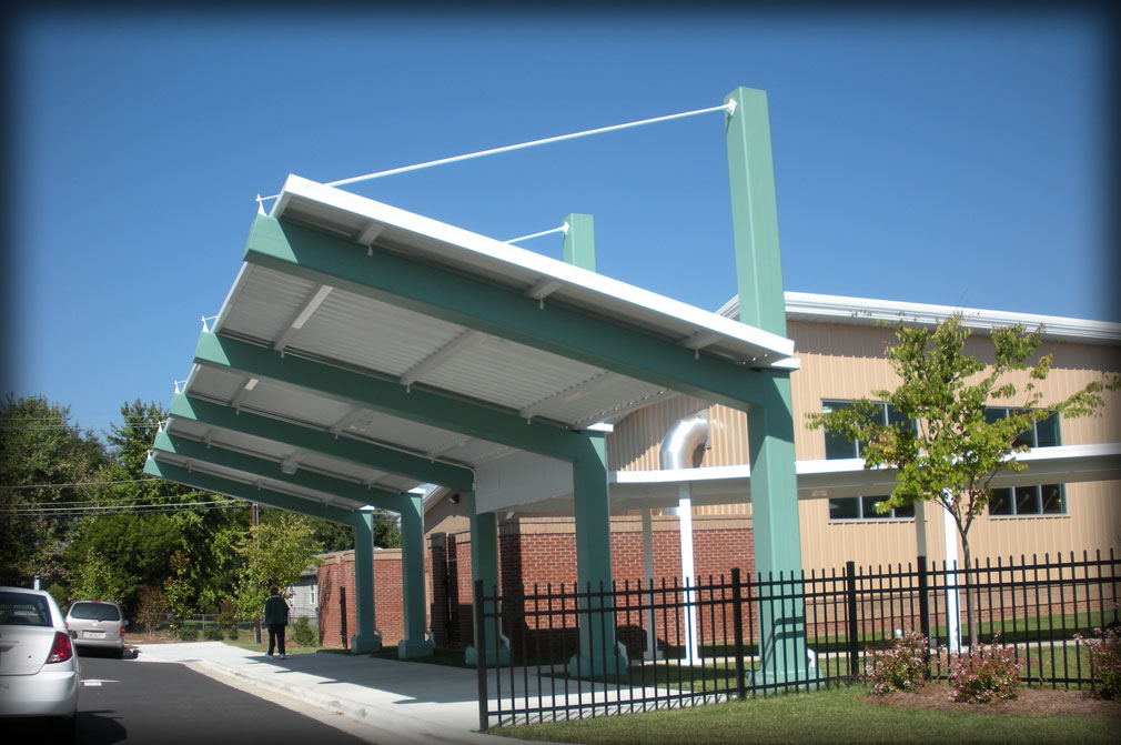 Architectural Aluminum Canopy Systems