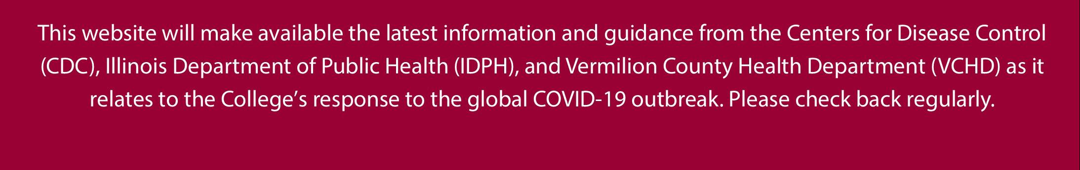 Coronavirus Disease 2019 (COVID-19) Updates | Danville Area ...