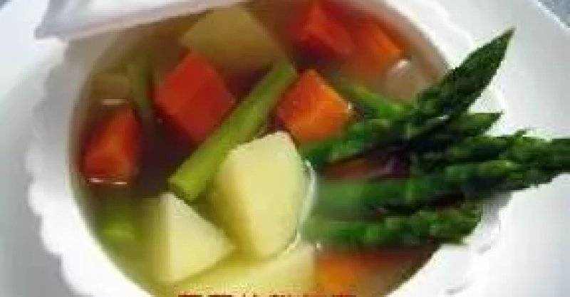 蘆筍牛肉清湯的詳細做法 - 大廚網簡易食譜