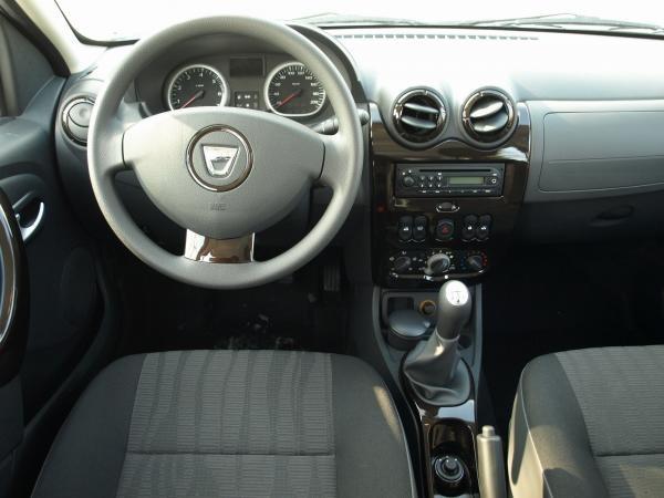 Interior Dacia Duster