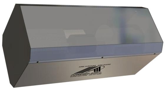 air curtain ced industrial air doors