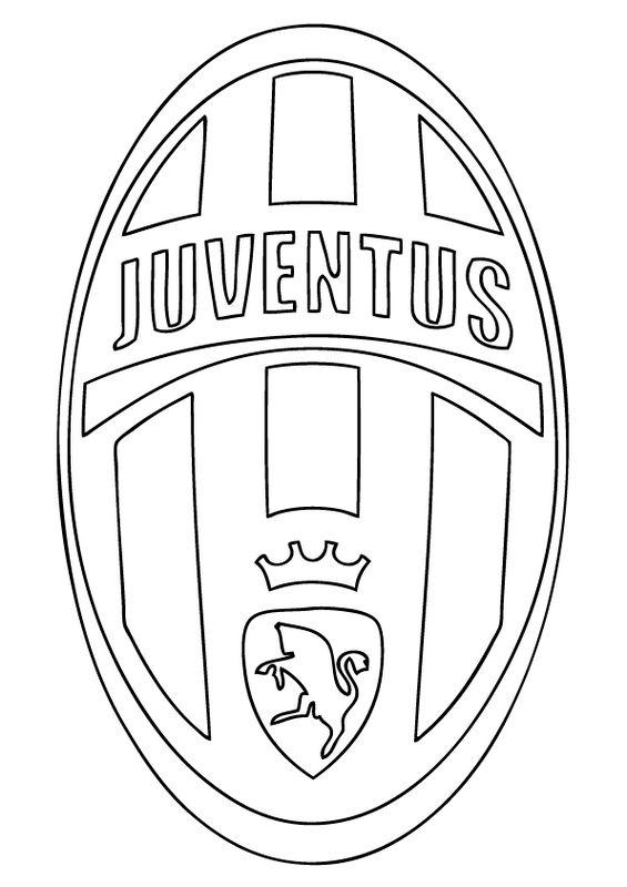Colorare Calcio, disegno Juventus FC