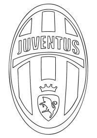 Disegni Da Colorare Di Calcio Della Juventus Disegno Di Maglia
