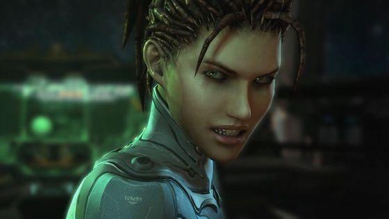 Kerrigan in Starcraft II