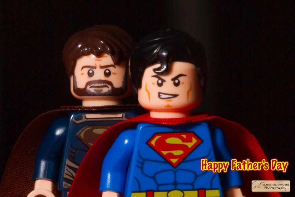 Jor-El et Kal-El