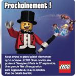 LEGO annonce ouverture Disney Village