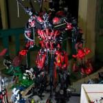 Festibriques Villebon, bionicle geant