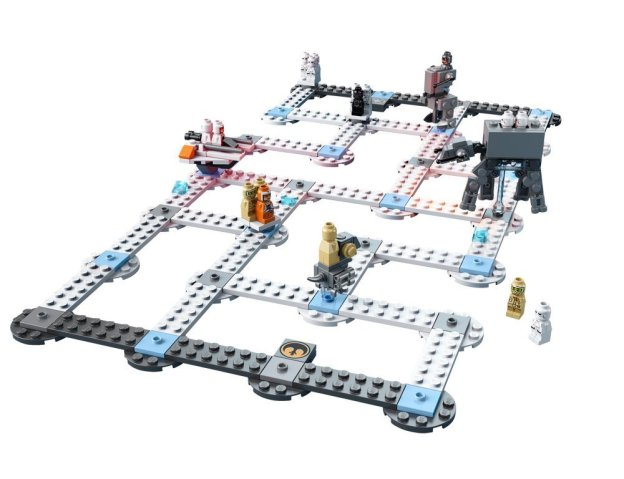 LEGO 3866 bataille Hoth partie