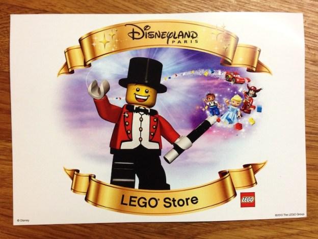 Invitation LEGO Disney Village