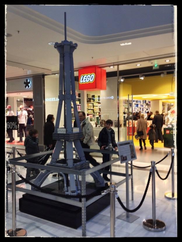 Tour Eiffel promotionnel de la gamme Architecture