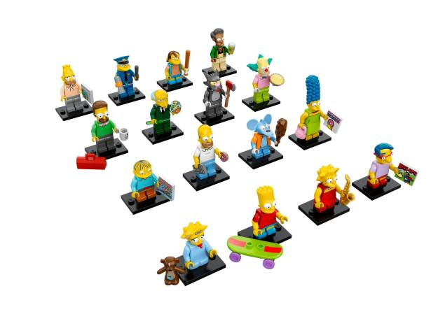 Les Minifigures Simpsons  LEGO