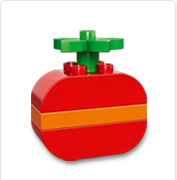 Une pomme en cadeau (LEGO)