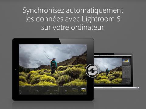 lightroom synchro ipad