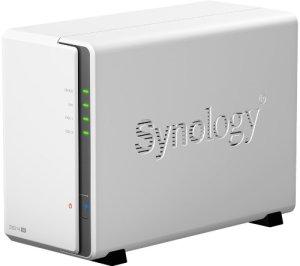Un NAS Synology à deux disques.