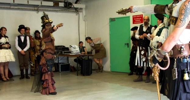 Le duel, figure imposée lorsque les interprètes sont armés... (D.Stankovski)
