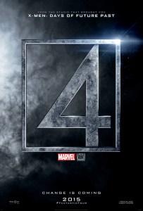Premier poster des Fantastic Four