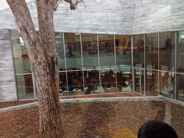 jardin médiathèque Bourg la Reine